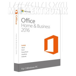 Microsoft Office 2016 Home & Business DE