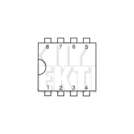 IC Linear LF398 S/H-Schaltung
